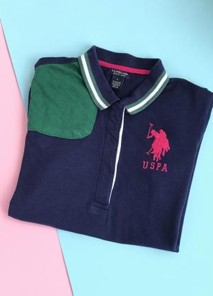 Оригинальная футболка поло us polo assn