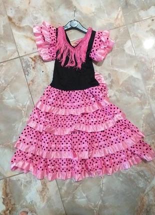 Платье на выступление, танцы,наряд микки маус