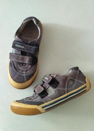 Richter замшевые кеды, кроссовки