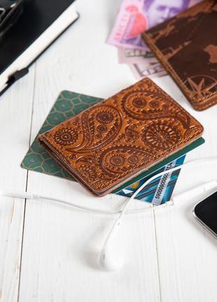 "Органайзер для документов  ( id паспорт )/карт hi art ad-03 crystal ginger  ""buta art"""
