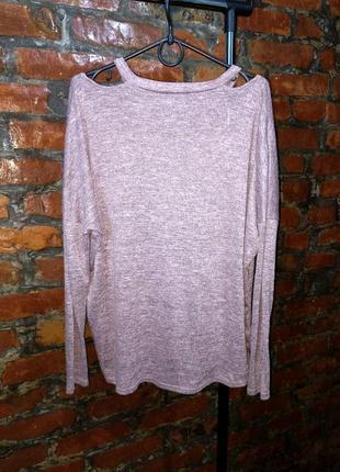 Топ блуза кофточка с вырезами на плечах new look2 фото