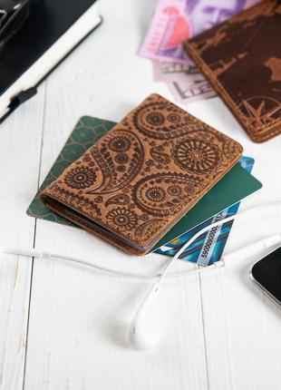 """Органайзер для документов ( id паспорт ) / карт hi art ad-03 shabby cumaru """"buta art"""""""