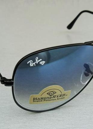 Ray ban aviator diamond hard 58 очки капли солнцезащитные5 фото
