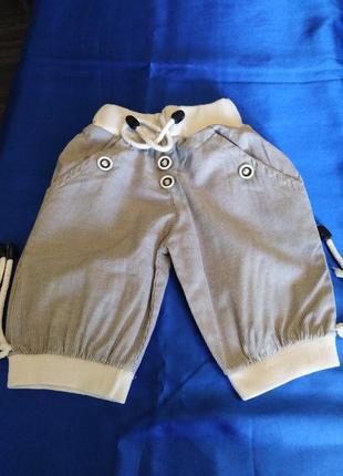 Миленькие штанишки х/б на 1 годик.