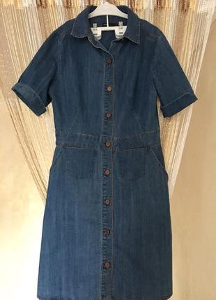 Стильное джинсовое платье 🤩
