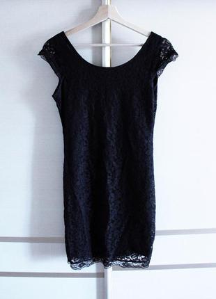 Cropp town платье короткое с кружевом