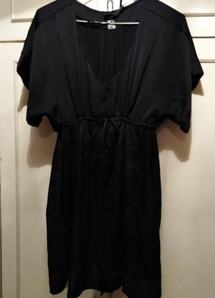 Очень классное, стильное платье от h&m чёрного цвета