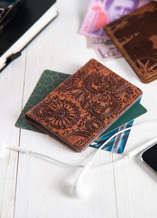"Органайзер для документов (id паспорт)/карт hi art ad-03 shabby dingo ""mehendi art"""