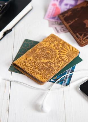 "Органайзер для документов (id паспорт)/карт hi art ad-03 shabby honey ""mehendi art"""