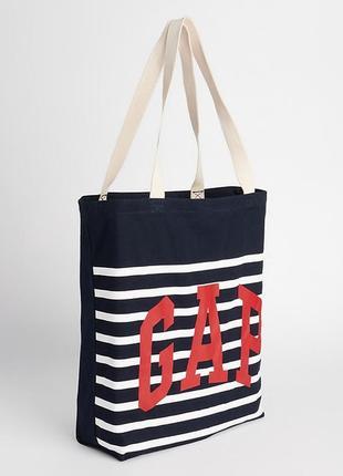 Шоппер пляжная сумка gap летняя экосумка пляжные сумки оригинал гэп сша