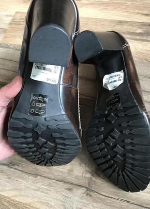 Кожаные туфли лоферы сток10 фото