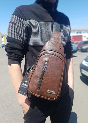 Мужская сумка - бананка
