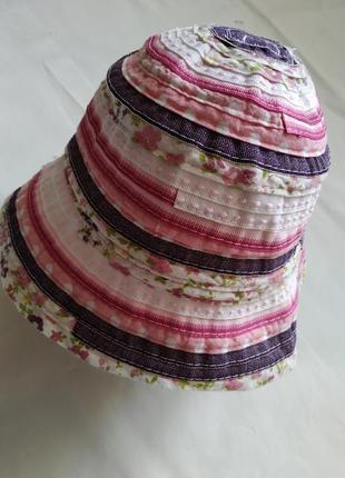 Панамка панама шляпка для девочки