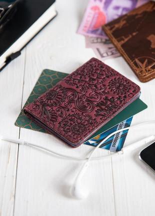 "Органайзер для документов (id паспорт)/карт hi art ad-03 shabby plum ""mehendi art"""