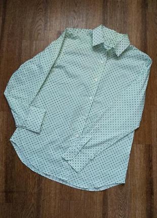 Amina rubinacci италия оригинал рубашка до длинного рукава с узором в ромб