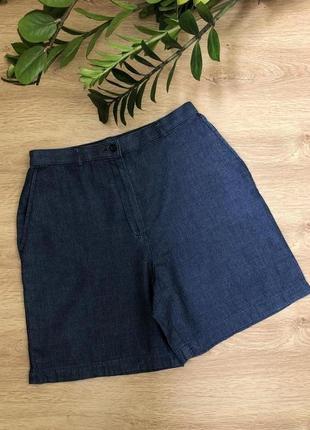 Стильные джинсовые/коттоновые шорты l-xl