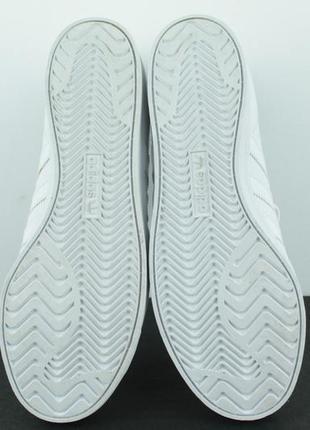 Оригинальные кожаные кроссовки adidas coast star white ee89036 фото