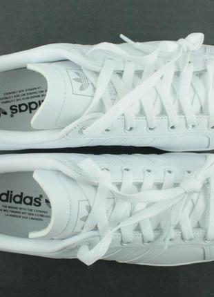 Оригинальные кожаные кроссовки adidas coast star white ee89038 фото