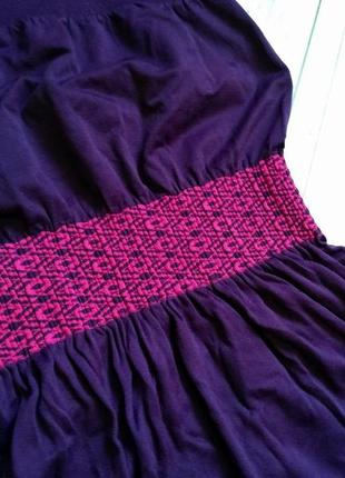 Пляжное платье-бандо на море размер хs-s (6-8)3 фото