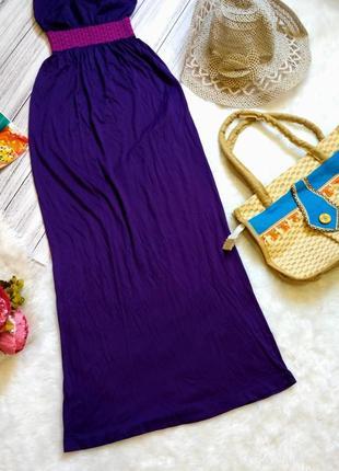 Пляжное платье-бандо на море размер хs-s (6-8)4 фото