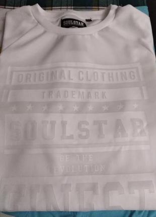 Шикарная футболка  soulstar  оригинал на рост 188/192
