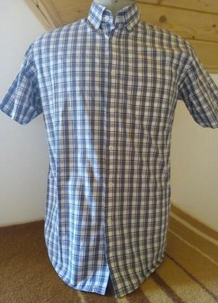 Мужские рубашка клетку розмір-39-40