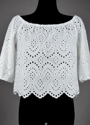 Дуже красива укорочена блузка топ кофта