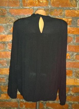 Кофточка блуза декорированная кружевом гипюром h&m3 фото