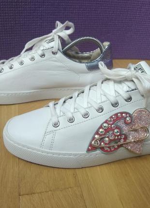 Стильные женские кеды туфли полуботинки hogl