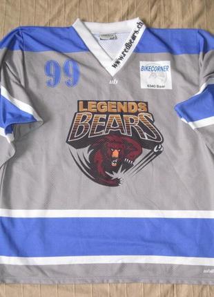 Whitebear (xl) хоккейная джерси