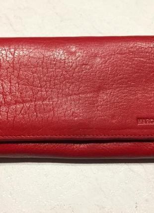 Кожаный кошелёк, портмоне marco governa
