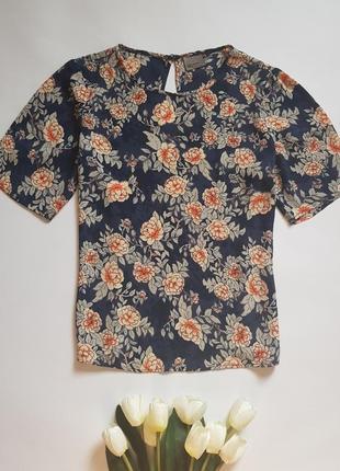 Блуза с цветочным принтом vero moda
