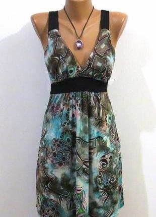 Стильный женственный сарафан от horizon paris размер: 48-l