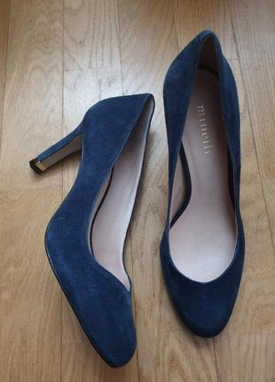 Туфлі із натуральної замші1 фото
