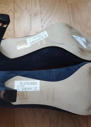 Туфлі із натуральної замші4 фото