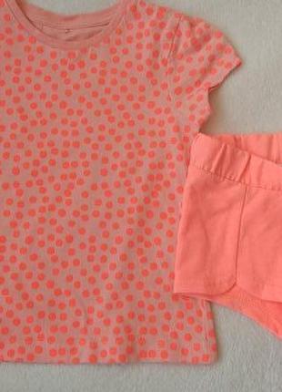 Комплект набор футболка и шорты на 3-4 года