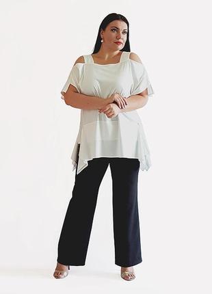 Стильные  брюки с натуральной ткани