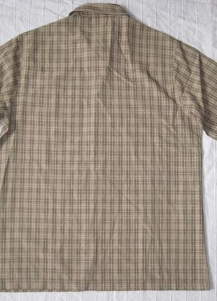 Jack wolfskin (m) треккинговая рубашка мужская