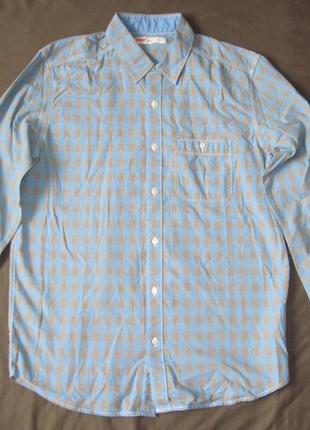 Levi's (l) рубашка мужская натуральная