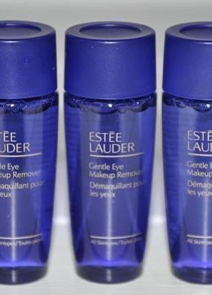 Мягкое средство для снятия макияжа с глаз estee lauder gentle eye makeup remover миниатюры