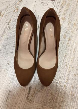 Туфлі із натурального нубука,від minelli2 фото