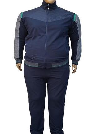 Мужской спортивный костюм большого размера.
