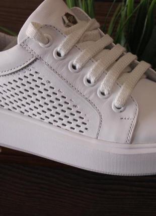 Распродажа.кеды стильные удобные, кроссовки кожа натуральная  полностью, с 34-41р.2 фото