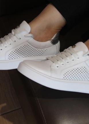 Распродажа.кеды стильные удобные, кроссовки кожа натуральная  полностью, с 34-41р.8 фото