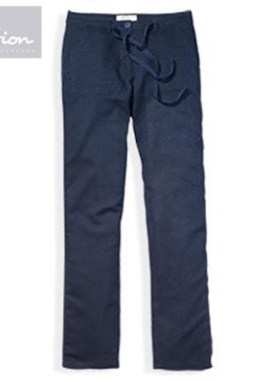 Летние брюки blue motion серия лен из германского магазина aldi