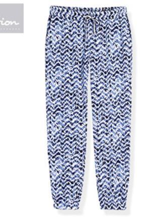Летние штаны из вискозы blue motion с германского магазина aldi