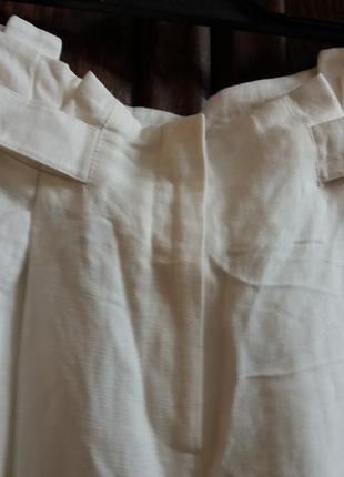 Летние широкие брюки-12р-....лен\ вискоза2 фото