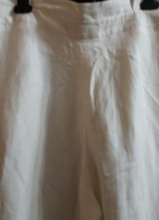 Летние широкие брюки-12р-....лен\ вискоза5 фото