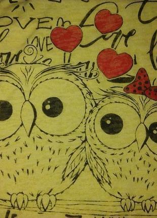 Новая футболка совы турция