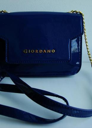 Нова фірмова італійська сумка кросбоді giordano.оригінал!!!